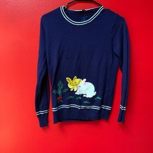 Vintage Bunny Sweater, Because You Deserve It